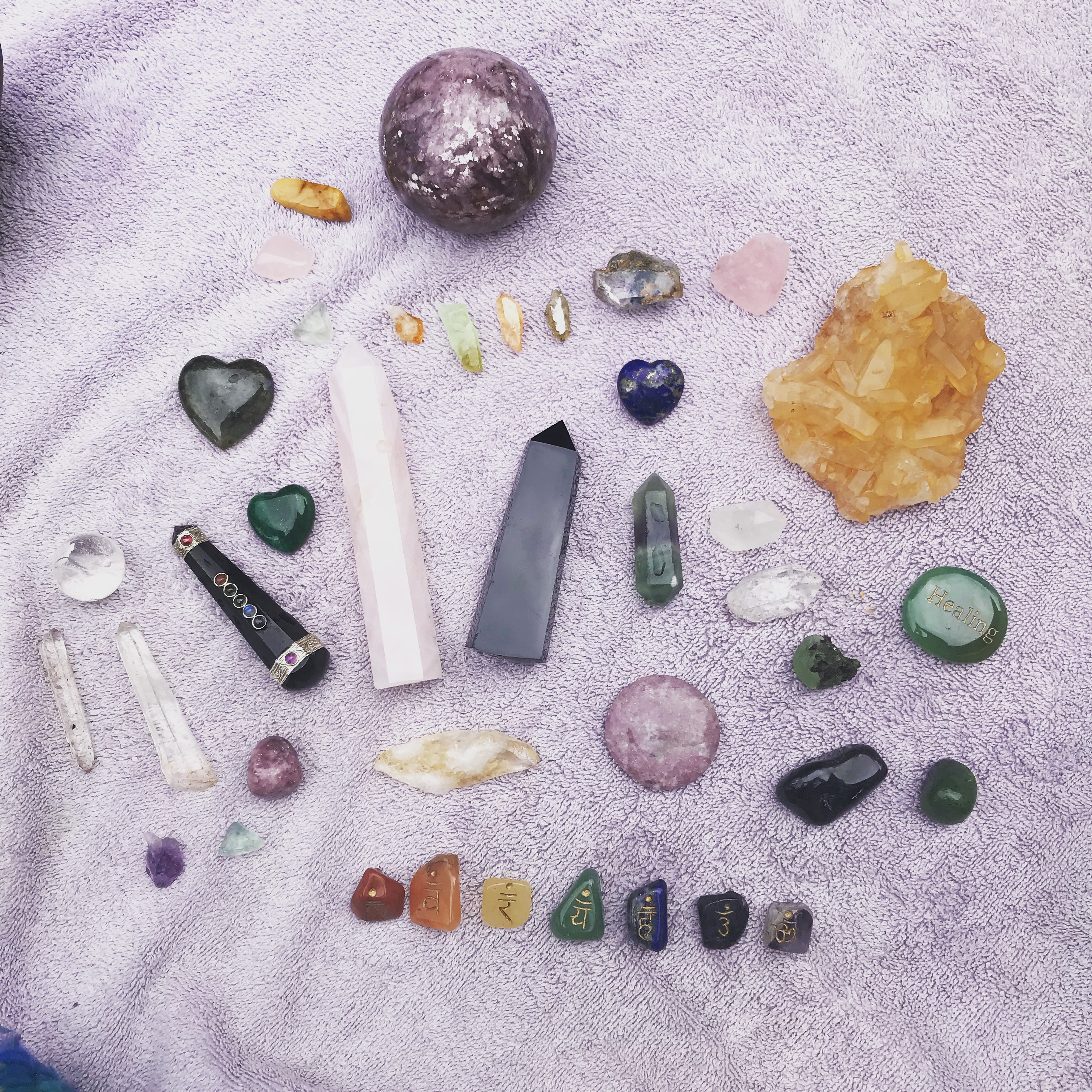 Full Moon Crystal Cleanse | In Body Being